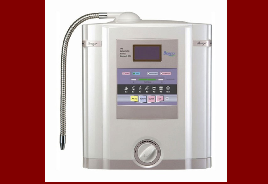 Biontech Water Ionizer Double Filtering System